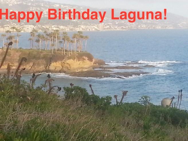 Laguna Beach Happy Birthday by SouthOCBeaches.com