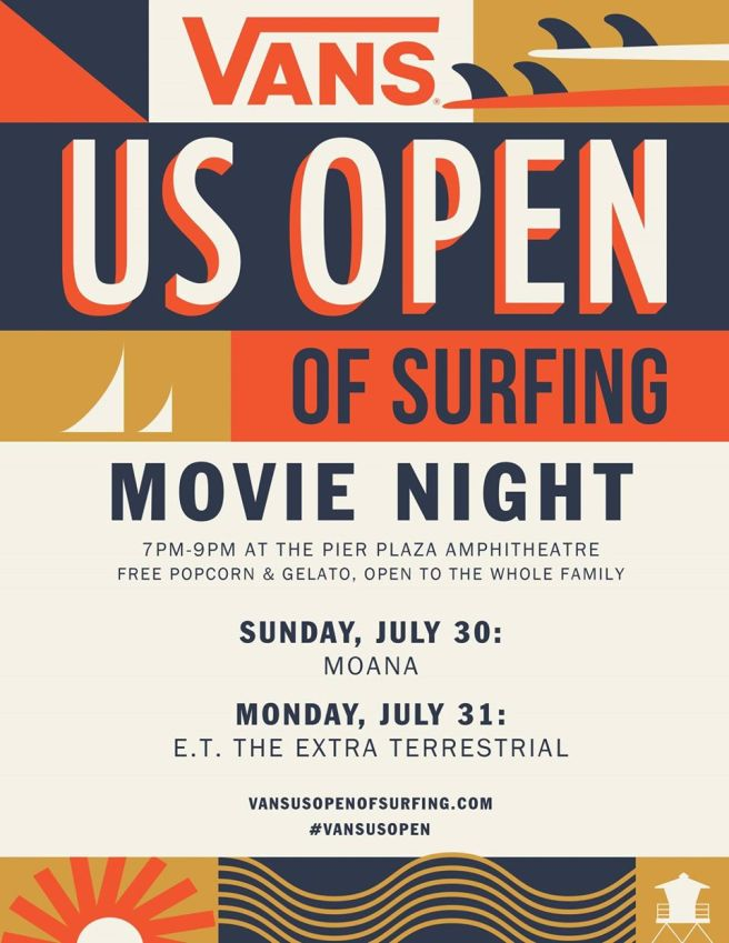 Vans US Open Movie Night July 30 and July 31 2017