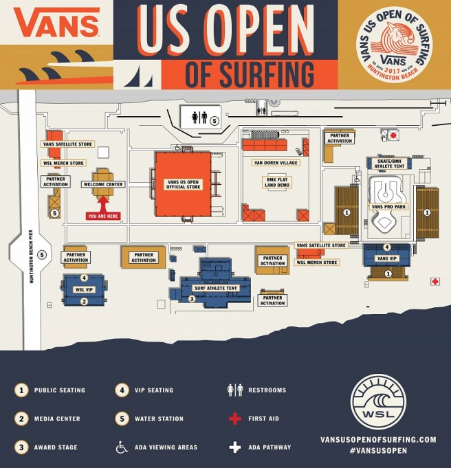 Vans US Open of Surfing Finals Sunday August 6 2017 – South OC Beaches