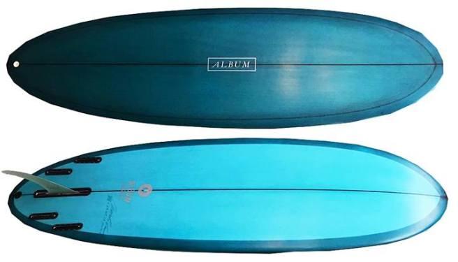 South Orange County Surfrider Album Surfboard Raffle October 2017