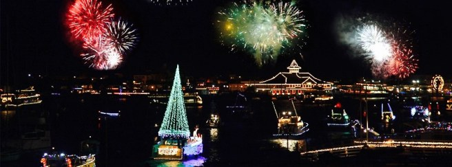 Newport Beach Christmas Boat Parade Courtesy of ChristmasBoatParade.com