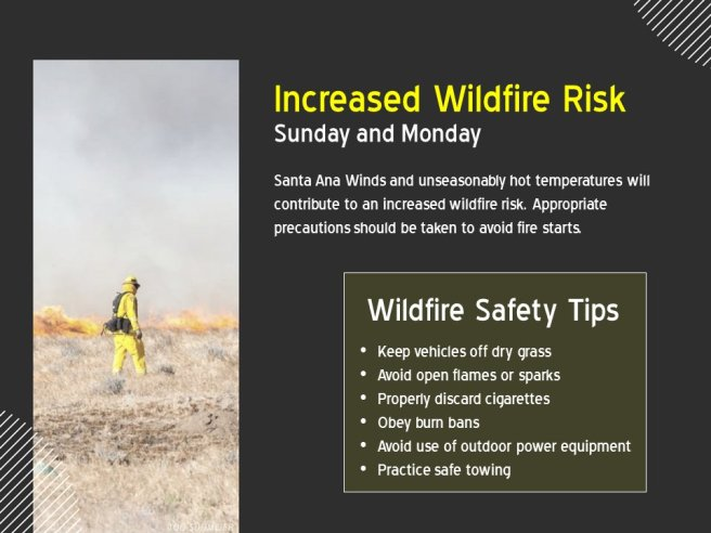 Wildfire Safety Tips Courtesy of NWS