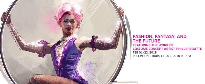 Laguna College of Art + Design (LCAD) Gallery Fashion Fantasy and the Future February 2018