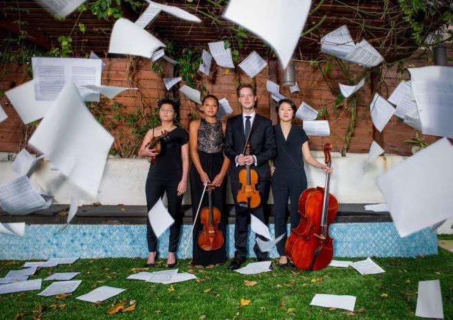 Argus Quartet Courtetsy of ArgusQuartet.com