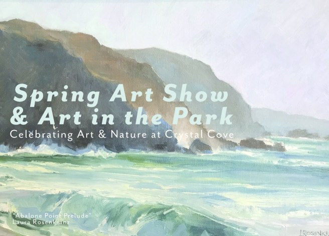 Crystal Cove Spring Art Show 2018 Courtesy of CrystalCove.org