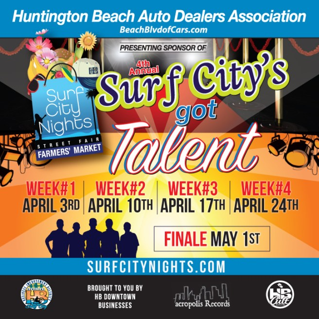 Huntington Beach Surf City Nights Got Talent April 2018