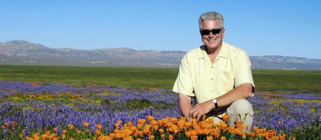 Huell Howser by Cameron Tucker Courtesy of Chapman.edu
