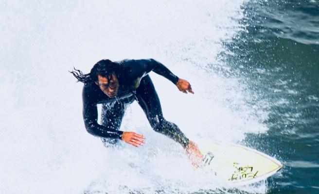 San Clemente Surfing Courtesy of KarinHorlick.com
