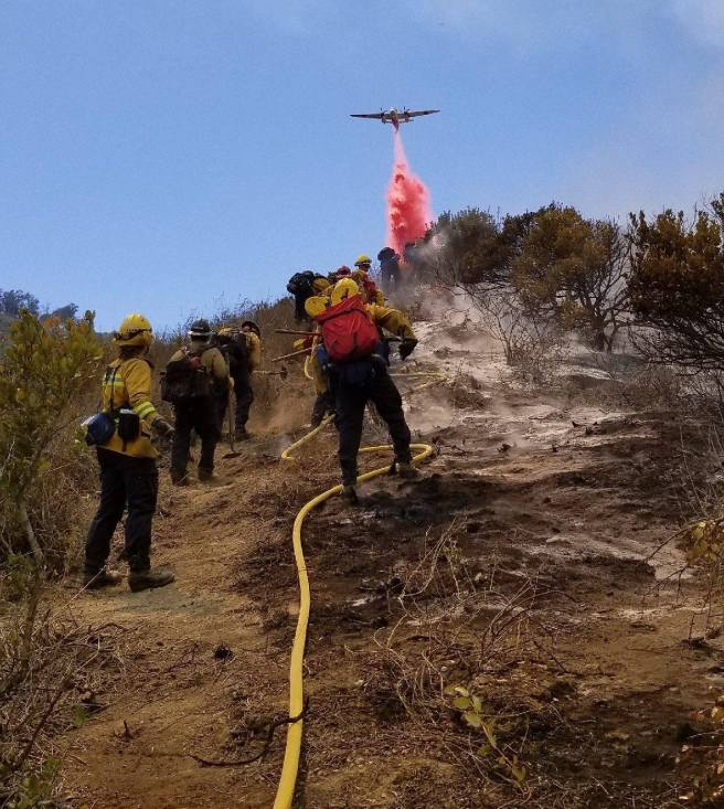 Laguna Beach Aliso Fire June 2 2018 Courtesy of The City of Laguna Beach and OCFA