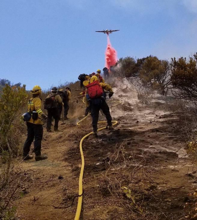 Laguna Beach Aliso Fire June 2 2018 Courtesy of The City of Laguna Beach and OCFA