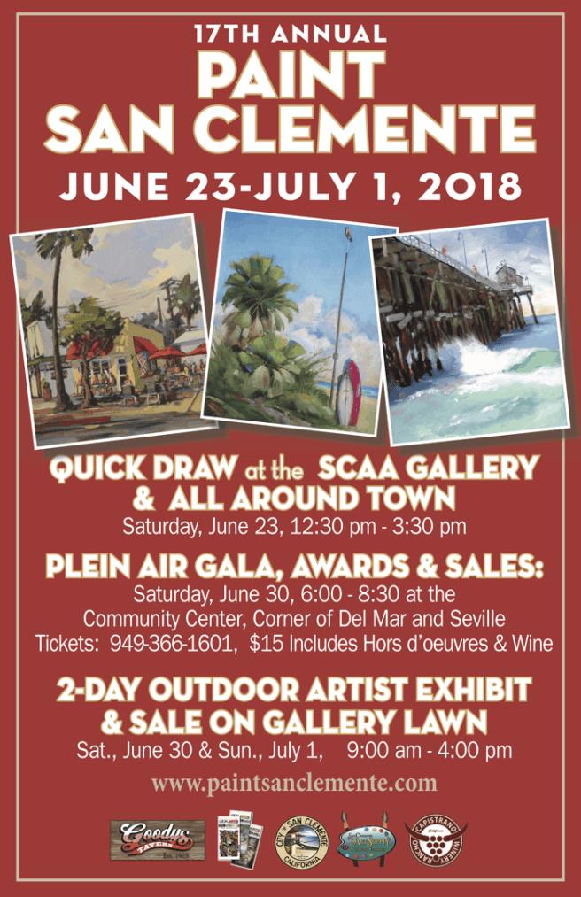 Paint San Clemente June 2018