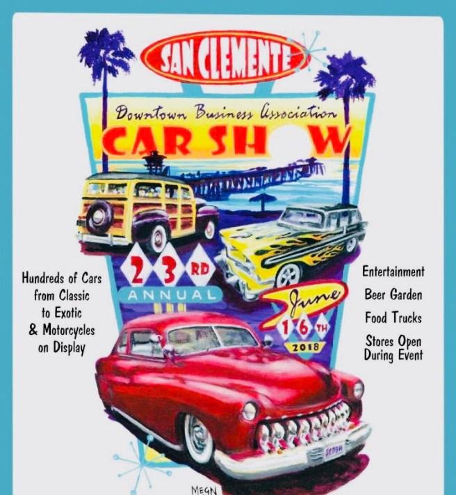 San Clemente Del Mar Car Show June 16 2018
