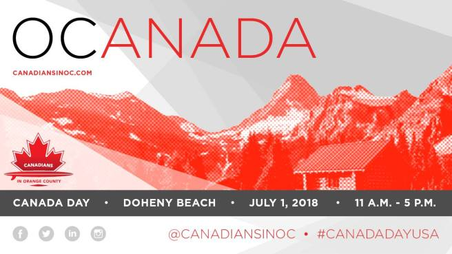 Canada Day at Dana Point Doheny State Beach July 1 2018