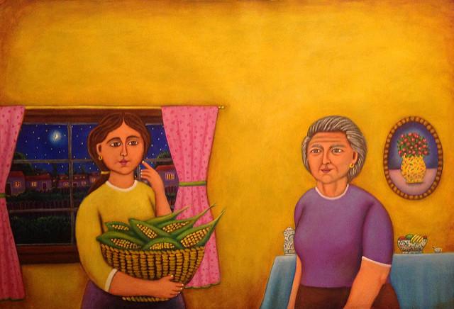 Don't Say a Word, Mama by Esau Andrade Valencia Courtesy of Cincopuntos.com
