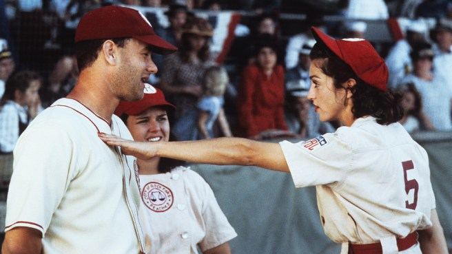 A League of Their Own Courtesy of SonyPictures.com