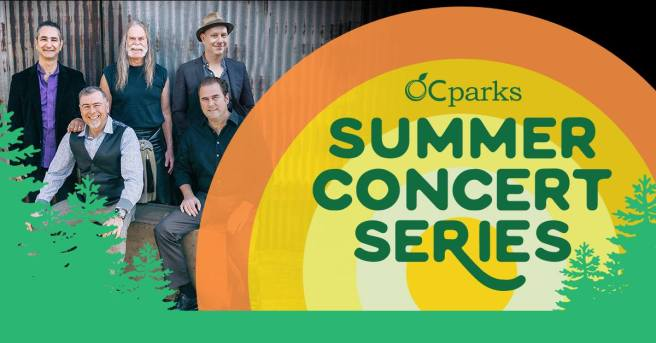 The Fenians at OC Parks Summer Concert Series August 9 2018