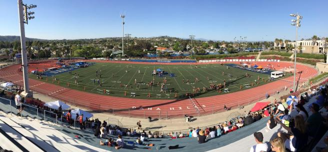 Dana Hills High School Courtesy of DHHS Track & Field Zone