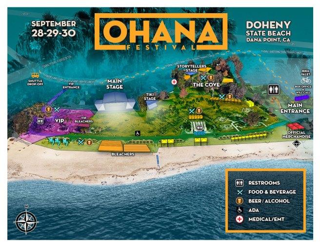 Dana Point Doheny Beach Ohan Fest 2018 Map