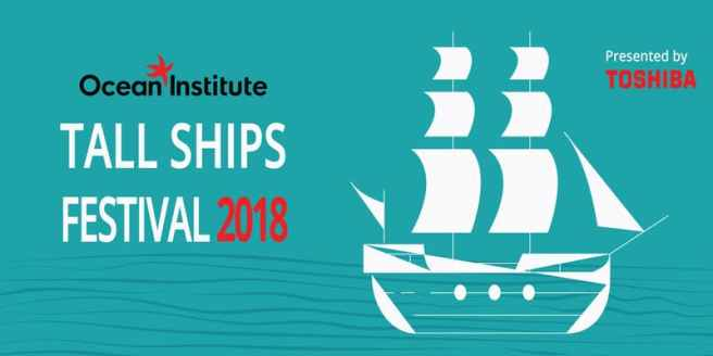 Dana Point Ocean Institute Tall Ships Festival 2018 Toshiba Banner