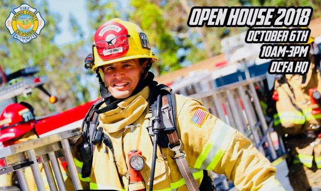 Orange County Fire Authority Irvine Open House Courtesy of OCFA.org