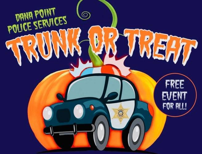 Dana Point Trunk or Treat Halloween October 24 2018