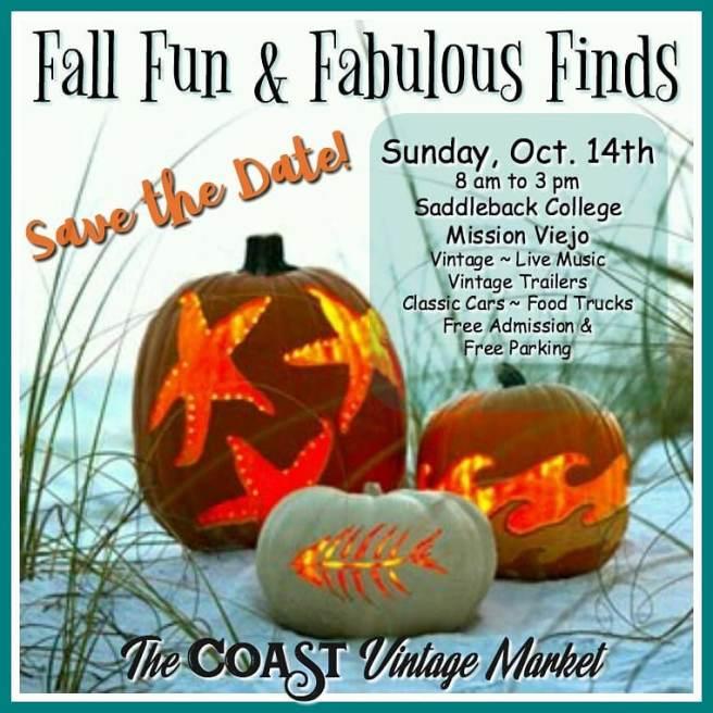 Coast Vintage Market October 2018