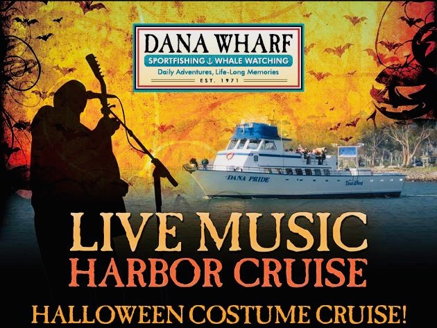 Dana Wharf Live Music Harbor Cruise October 26 2018