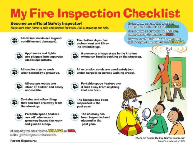 Fire Inspection Safety Checklist