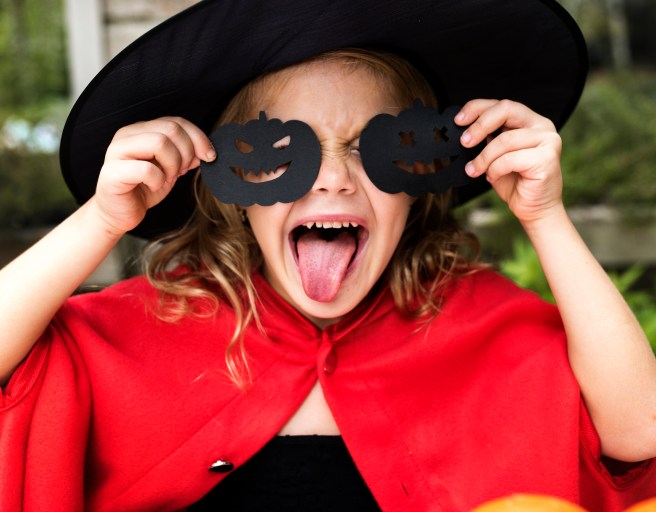 Child in a Halloween costume Courtesy of WordPress/Pexels