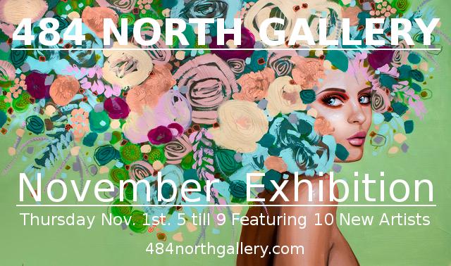Laguna Beach 484 North Gallery November 1 2018 Art Walk
