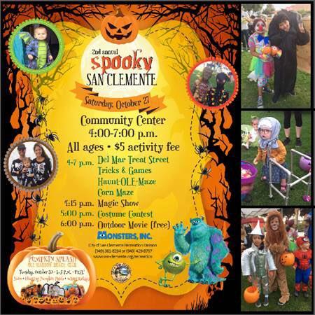 San Clemente Spooky Halloween October 27 2018