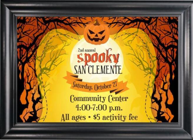 Spooky San Clemente Saturday October 27 2018