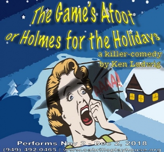 Cabrillo Playhouse Opens November 2 2018