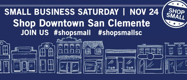 San Clemente Small Business Saturday November 24 2018