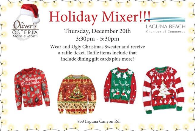 Laguna Beach Chamber of Commerce Holiday Mixer December 20 2018