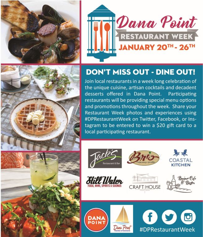Dana Point Restaurant Week 2019