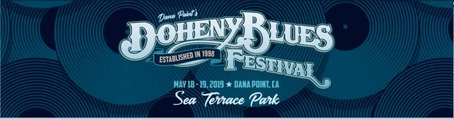 Doheny Blues Festival 2019 Banner