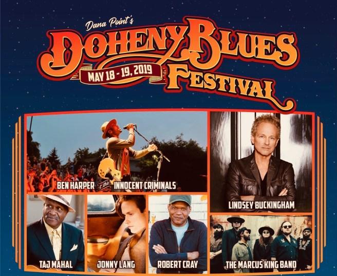 Dana Point Doheny Blues Festival May 18-19 2019 Lineup