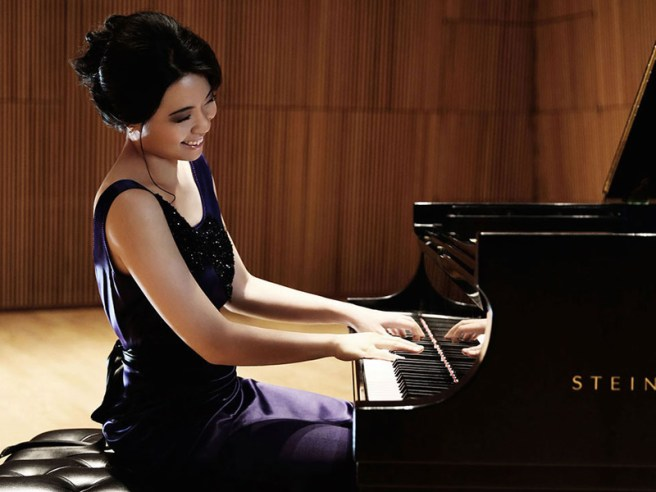 Pianist Joyce Yang Courtesy of Laguna Beach Music Festival