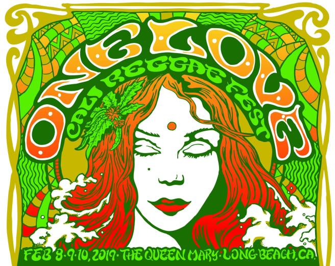 Long Beach One Love Cali Reggae Fest February 2019