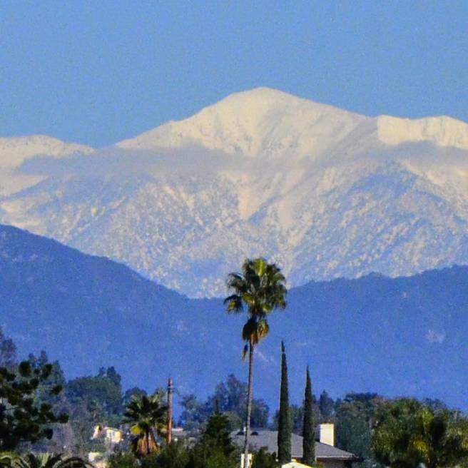 Mt. Baldy Courtesy of Angeles National Forest