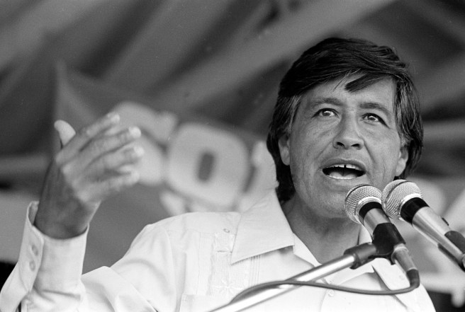 Cesar Chavez Courtesy of Cesar Chavez Foundation