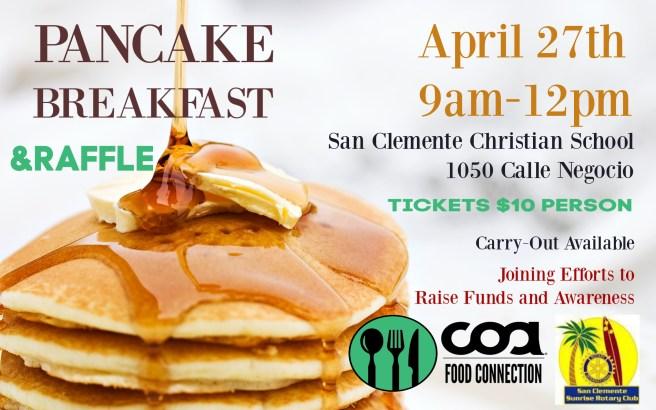 San Clemente Pancake Breakfast April 27 2019