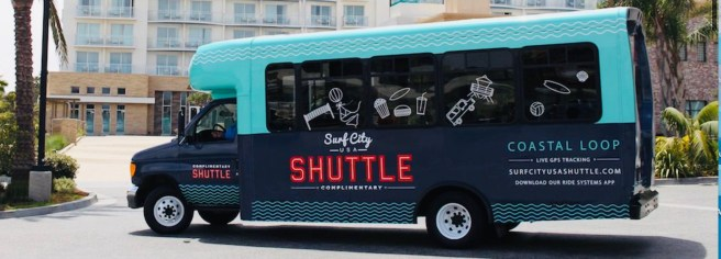 Huntington Beach Surf City Shuttle Summer 2019