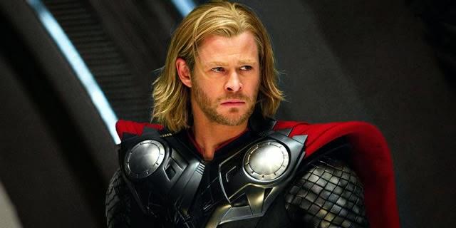 Chris Hemsworth as Thor Courtesy of Paramount.com