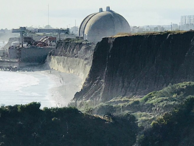 San Onofre Nuclear Generating Station Courtesy of SouthOCBeaches.com