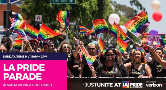 LA Pride Parade Saturday June 8 2019