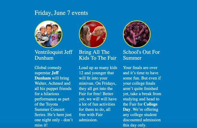 San Diego County Fair Guide Friday June 7 2019 – South OC