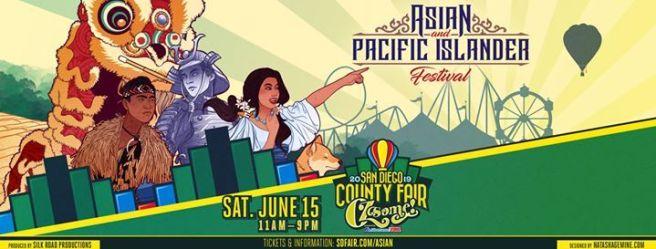 San Diego Fair Asian & Pacific Islander Festival Saturday June 15 2019