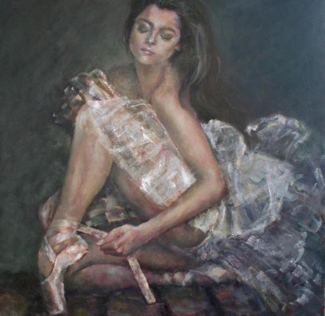 Artist Maryam Khojini Rouhi is Featured at Laguna Beach Art A Fair Courtesy of Art-A-Fair.com